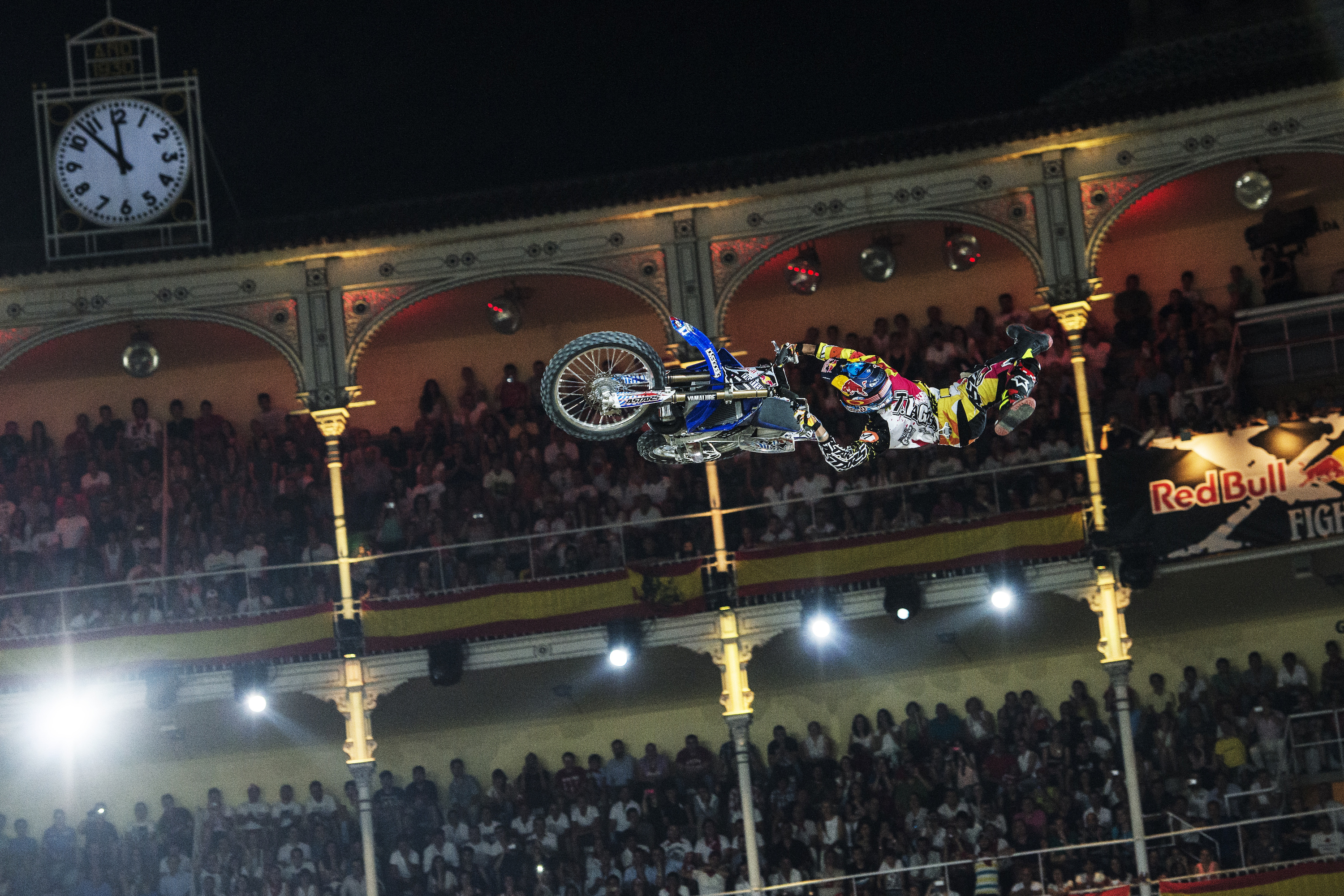 Tom Pagés a Red Bull X-Fighters