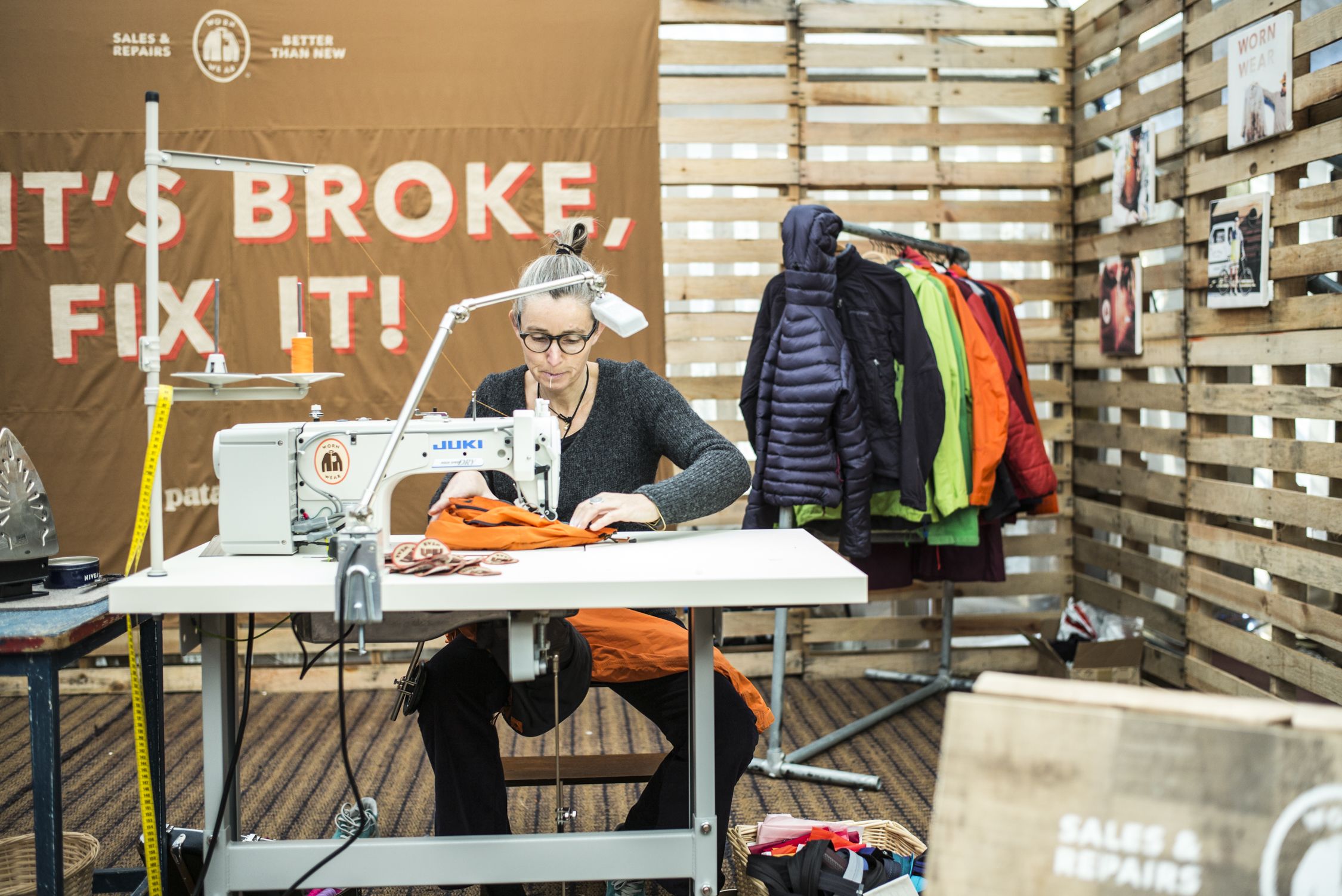 If it's broke, fix it! Worn Wear Tour Patagonia