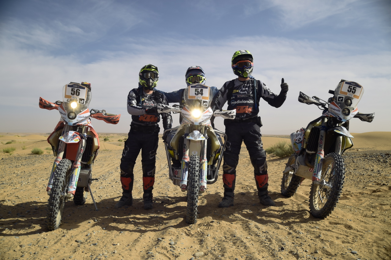 Nicola Dutto MERZOUGA_ph. cr. François Rophé_2_ Road to Dakar 2019
